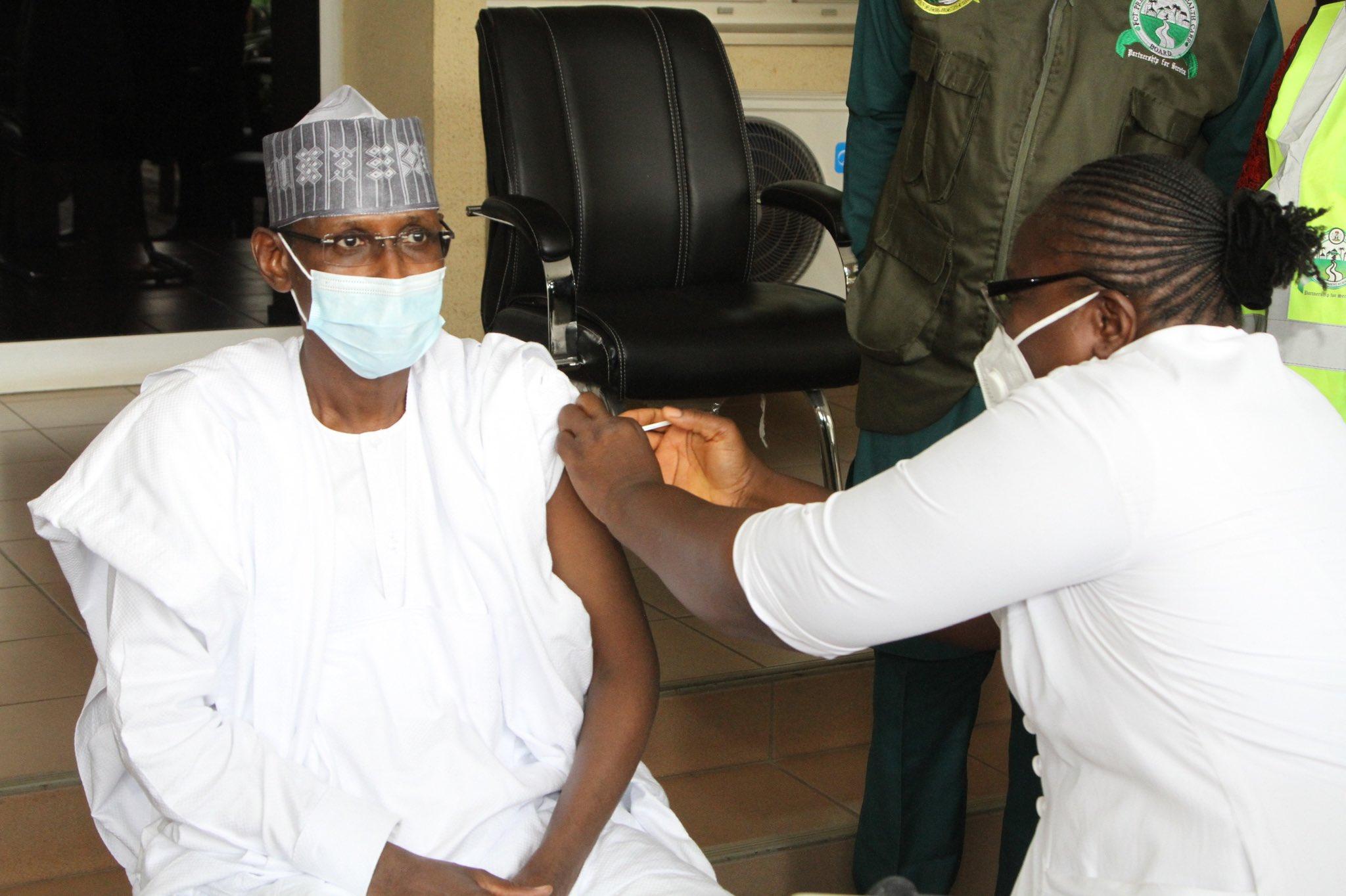 Muhammad Bello COVID-19 Vaccine FCT