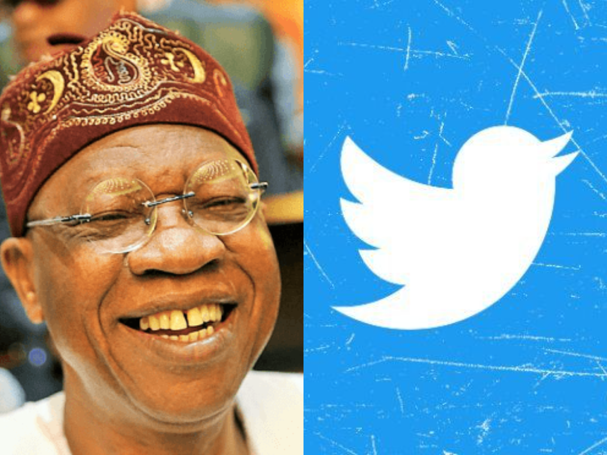 Twitter Ban Lai Mohammed Buhari