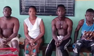 Three criminals, female spiritualist terrorising Oyo community nabbed