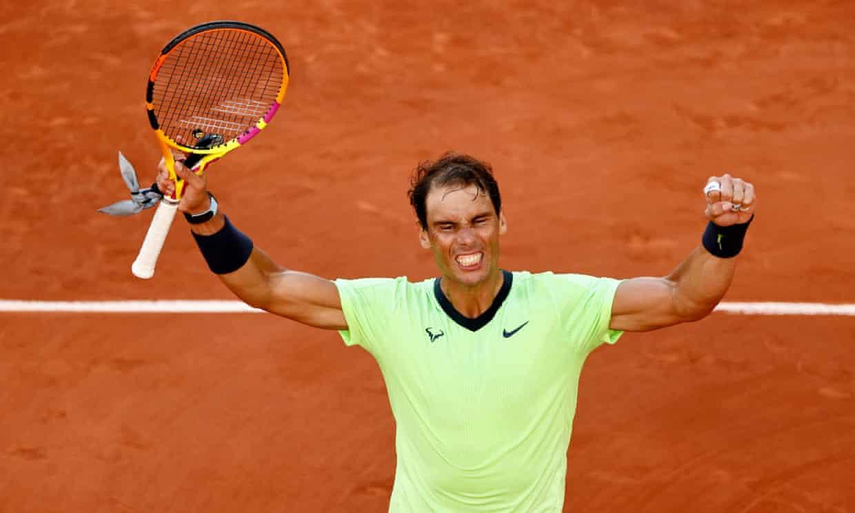 Nadal Jannick ROland Garros