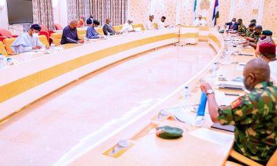 Buhari security meeting