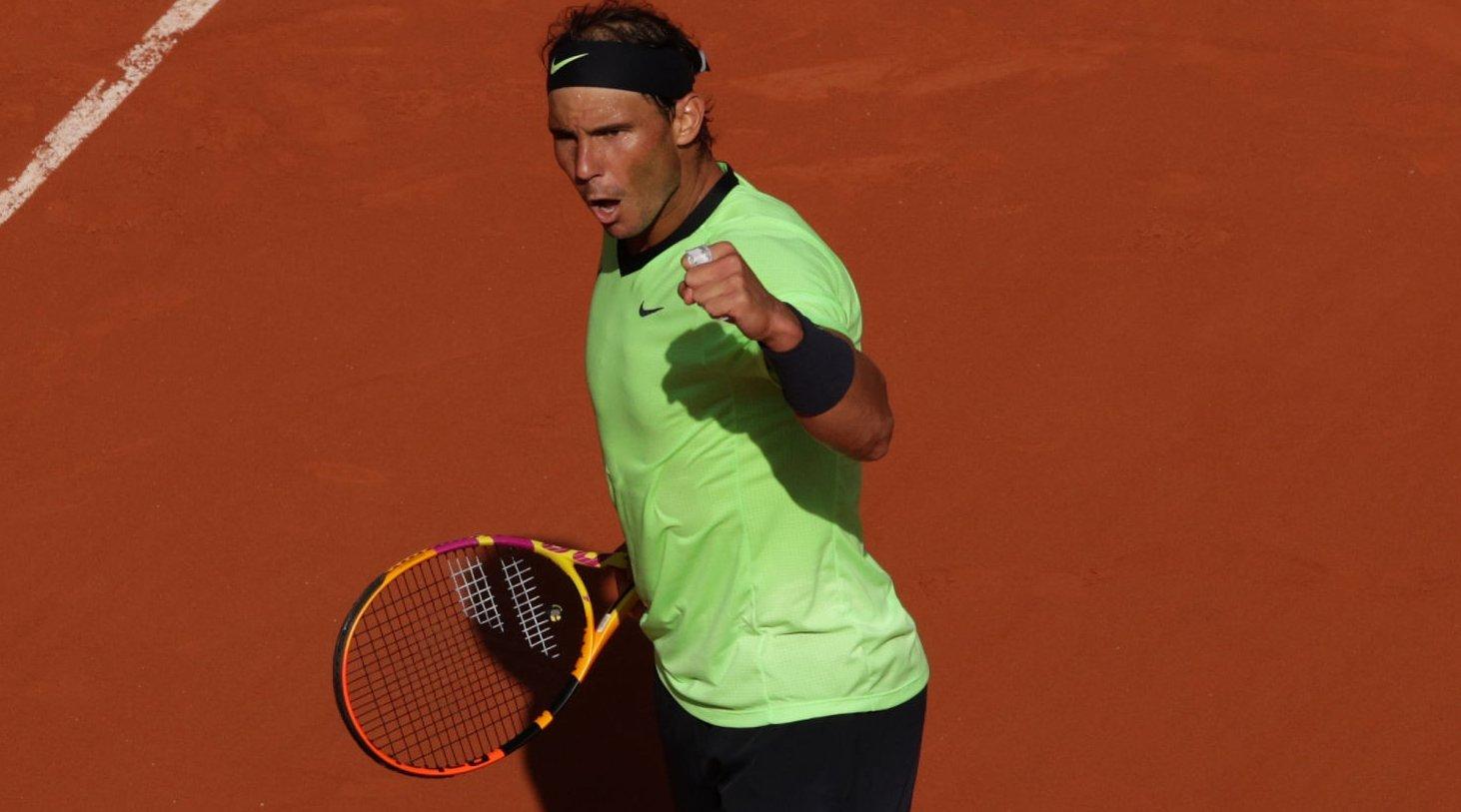 Nadal Schwartzman French Open Roland Garros