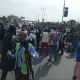 Drama as brawl breaks out amongst #IStandWithBuhari protesters