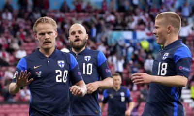 Denmark Finland EURO 2020