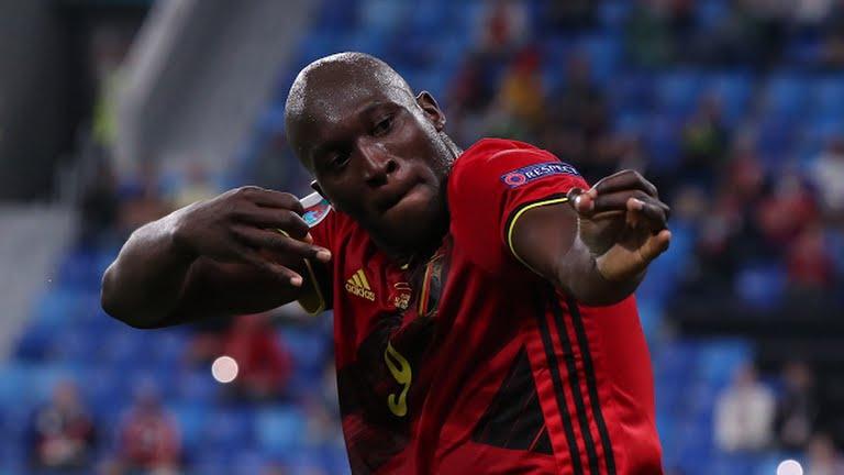 Belgium Lukaku Russia EURO 2020