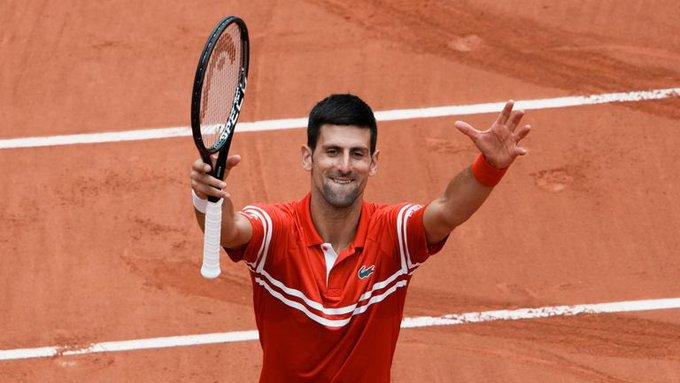 Djokovic Tsitsipas French Open