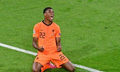 Denzel Dumfries Netherlands Ukraine EURO 2020