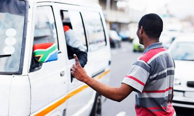 South Africa taxi violence