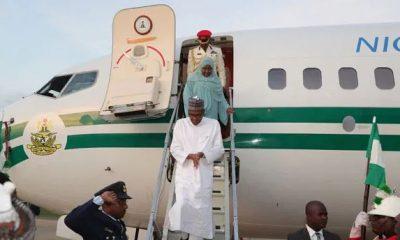 JUST IN: President Buhari arrives in Borno