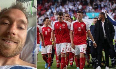 Eriksen Denmark Belgium EURO 2020