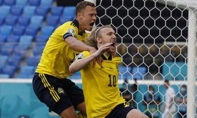 Forsberg Sweden Slovakia EURO 2020