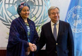 UN Antonio Guterres Amina Mohammed
