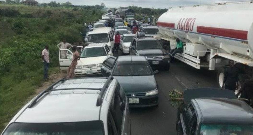 Kaduna-Abuja highway protest bandits police