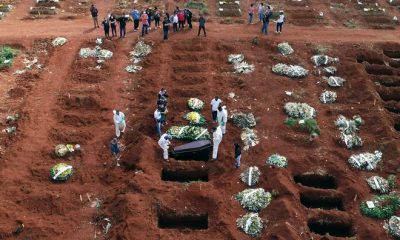 Brazil loses 500,000 people to COVID-19 deaths - Minister