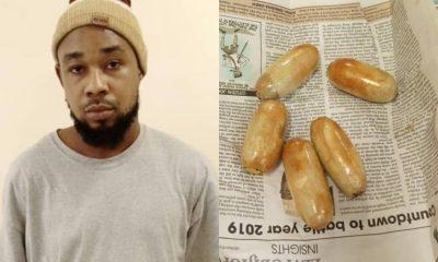 Pakistan-returnee nabbedwith heroin hidden in anusat Lagos airport