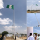 tallest Nigerian flag pole 4
