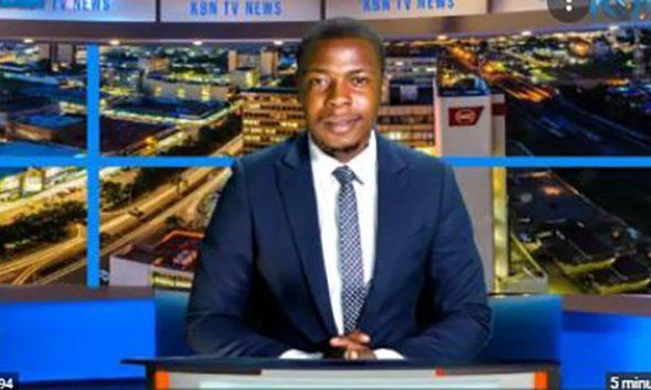 Hilarious moment news presenter demands salary on live TV