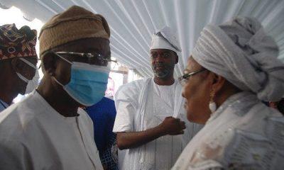 Aregbesola and Ajimobi's widow