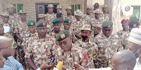 COAS celebrates Sallah with troops