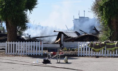 Two more Catholic churches razed by unknown arsonists in Canada