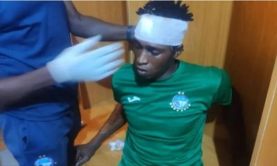 Jos fans attack Enyimba players, beat up journalists