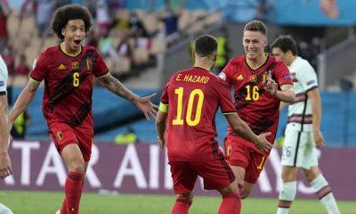 Hazard Belgium Portugal EURO 2020