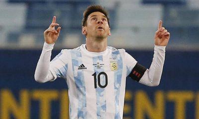 Messi Argetina most capped player Bolivia COpa America