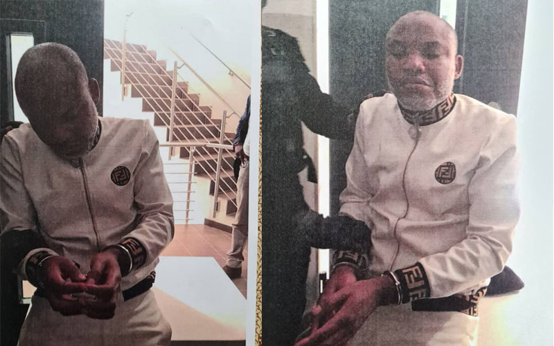 JUST IN: DSS, Police arrest suspected IPOB members at Nnamdi Kanu's trial in Abuja