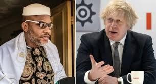 UK demands explanation on Nnamdi Kanu's arrets
