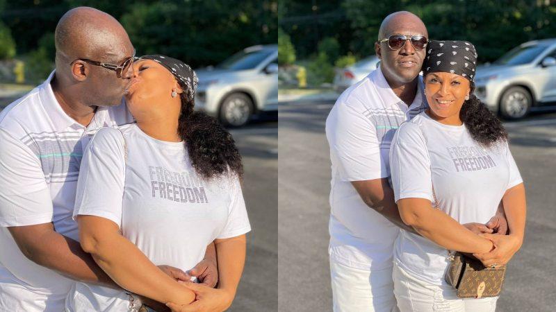 Sammie Okposo and his wife celebrate 11th wedding anniversary