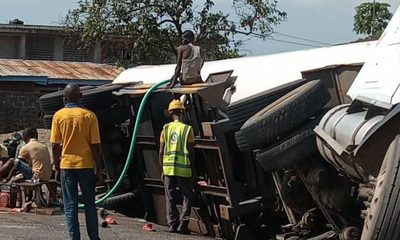 Petrol tanker crushes 15 students to death in Delta