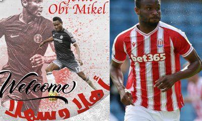 Mikel Obi Stoke City Kuwait Sporting club