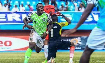 Ibrahim Sanusi Super Eagles call-up for Mexico friendly