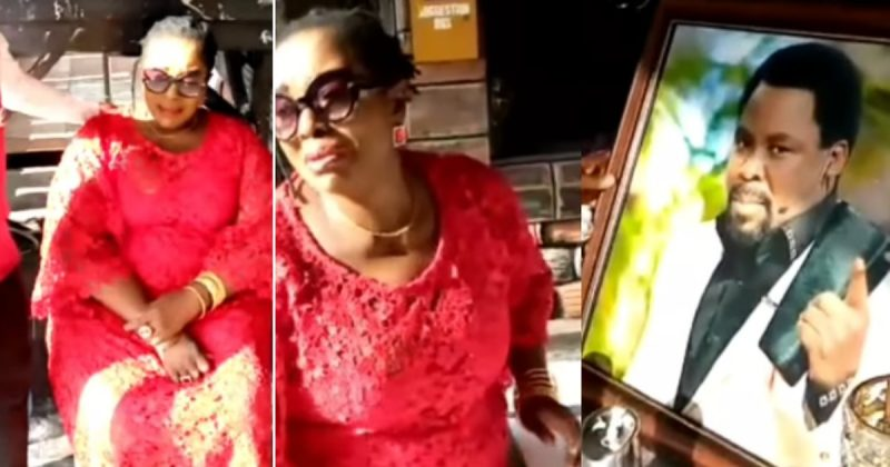 TB Joshua, Rita Edochie visits SCOAN