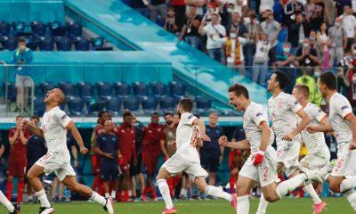 Spain subdue Switzerland