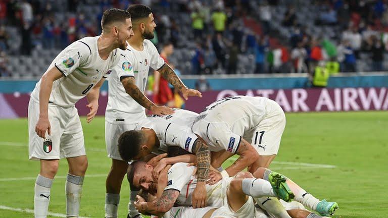 Italy Belgium EURO 2020