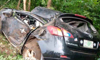 Nurse dies, husband injured in Ogun road accident