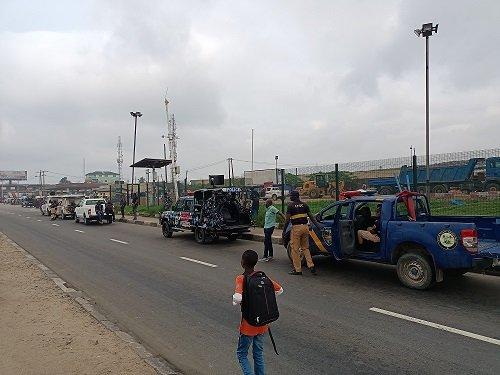 Venue of the proposed Yoruba Nation Rally