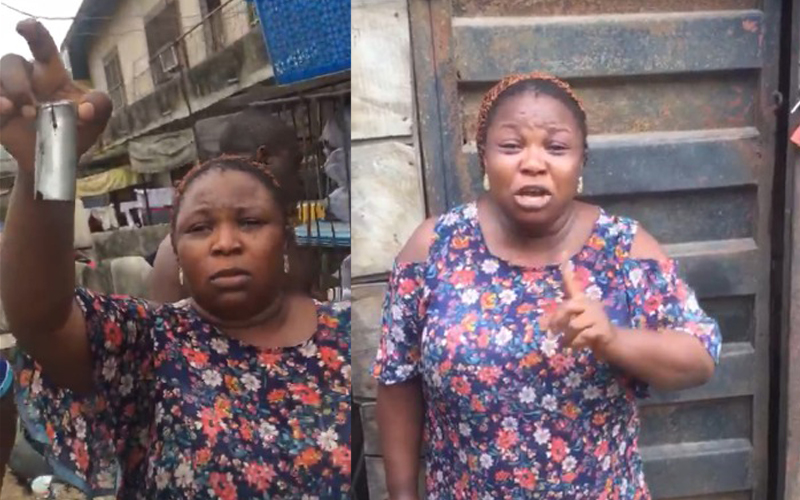 Yoruba Nation Rally teargas canister fired into woman's home