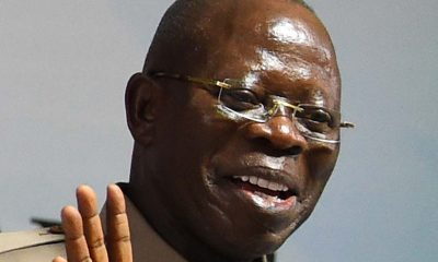 Oshiomhole welcomes Matawalle to APC from PDP