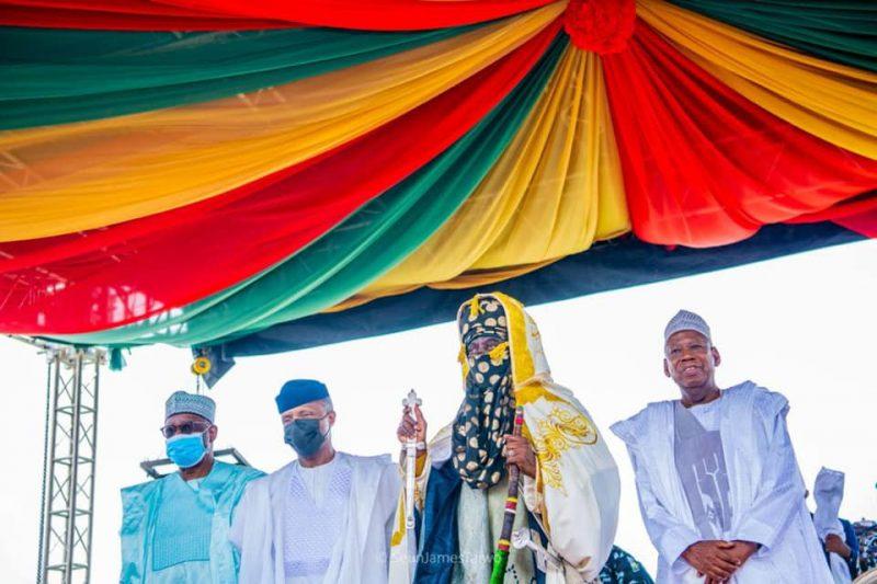 Aminu Ado Bayero coronation