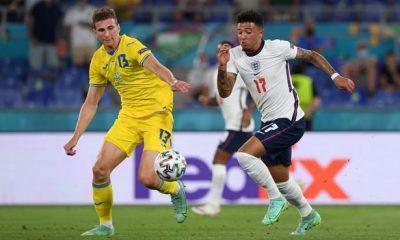 Sancho Ukraine Ferdinand Man Utd England EURO 2020