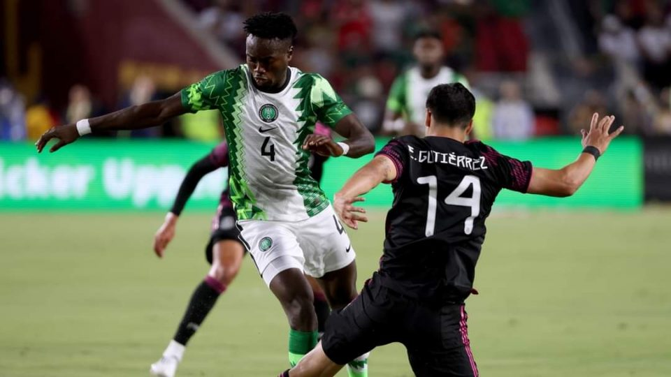 JUST IN: Mexico rout Nigeria 4-0 in friendly game