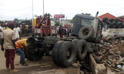 Motorcyclists, traders crushed as tanker rams into Ibadan market