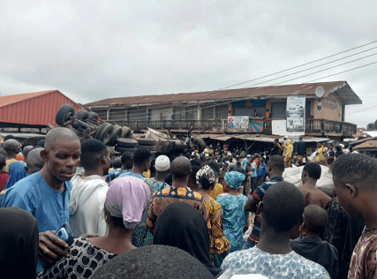 Bodies of five victims crushed by tanker in Ibadan market deposited in mortuary - police