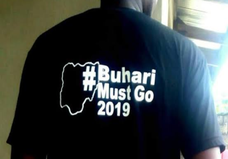 Six activists arrested for wearing Buhari-Must-Go shirts to Dunamis Church