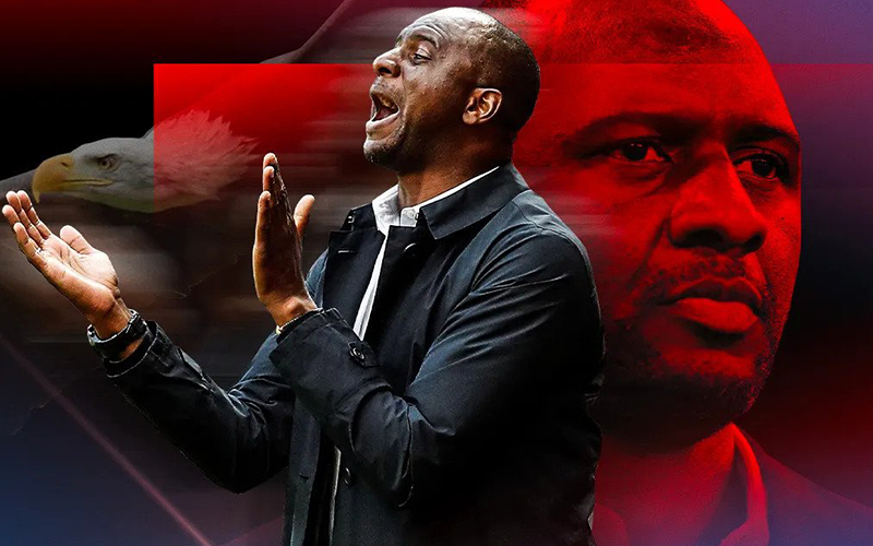 Crystal Palace appoint Patrick Viera as manager