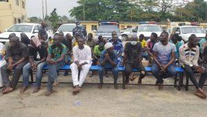 Police Parade Yoruba Nation protesters