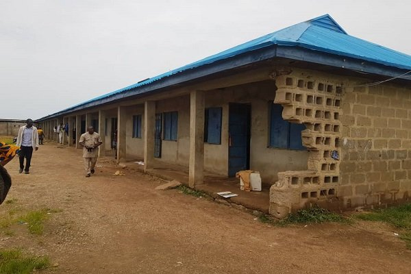 Baptist High School where about 121 students were abducted by Bandits