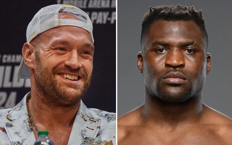 Fury to fight UFC champ Ngannou